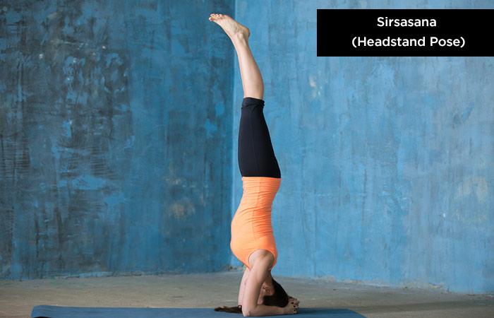 Sirsasana - Yoga To Protect Your Hair