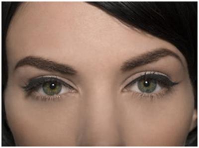 eyebrow makeup wide set eyes