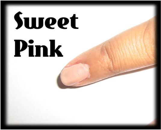 Sweet pink nail art1