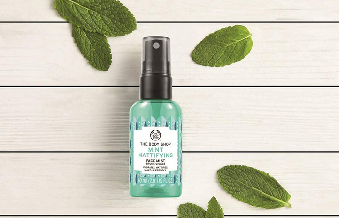 The Body Shop Mint Mattifying Face Mist