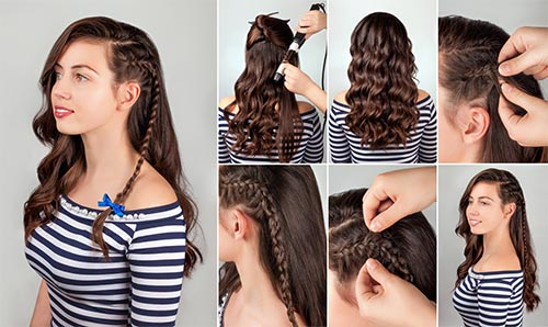 20 Amazing Hairstyles For Curly Hair For Girls
