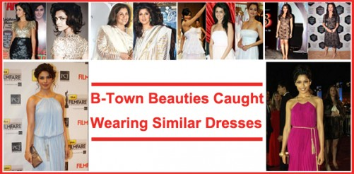 bollywood celebs in similar clothes