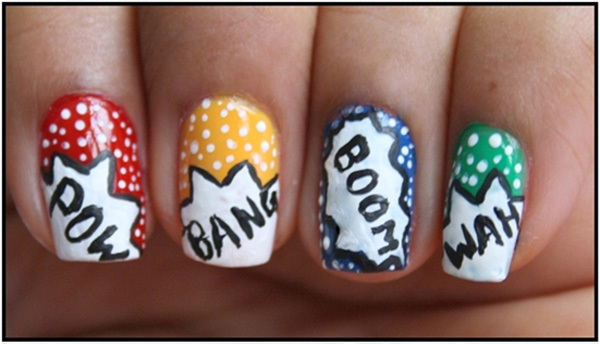 Water Nail Art Designs In Hindi To Bend Light