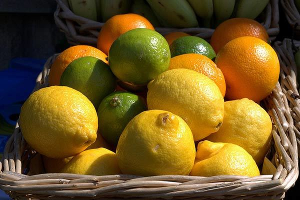 citrus fruits for hair