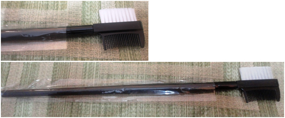 lash groomer brush for makeup