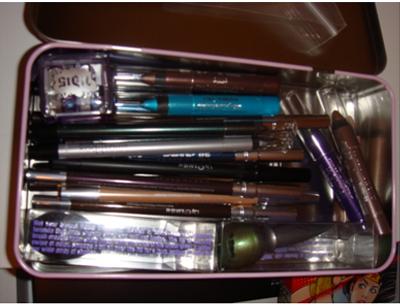 makeup pencil pouch