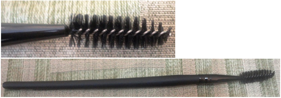 mascara brush for makeup
