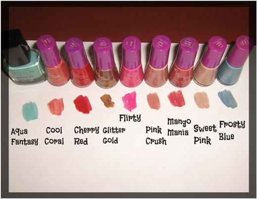 shades nail arts