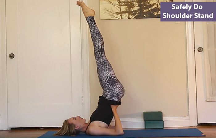 Yoga for Bad Breath - Shoulder-Stand