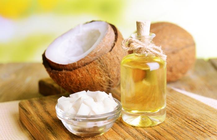 Hot Oil Hair Massage - Coconut Oil