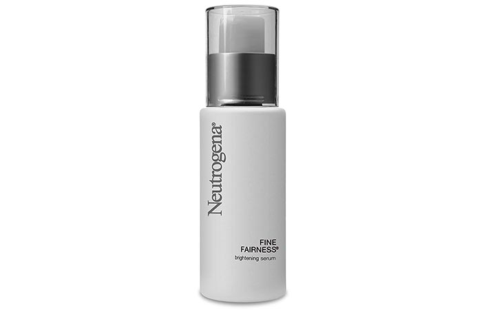 1. Neutrogena Fine Fairness Brightening Serum