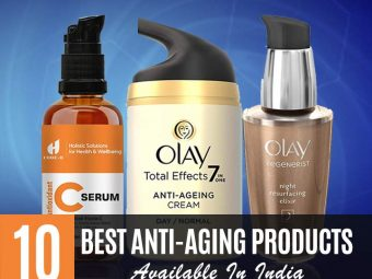 10 Best Anti-Aging Products Available In India