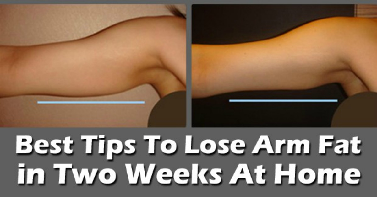 How to get rid of flabby skin under your arms