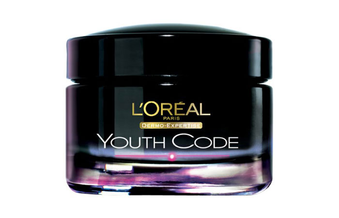 10. L'Oreal Youth Code Youth Boosting Night Cream
