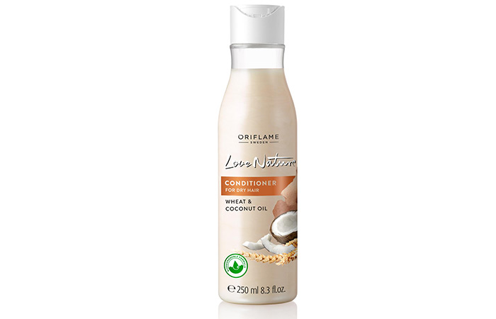 Oriflame Love Nature Wheat & Coconut Oil Shampoo - Shampoos For Dry And Damaged Hair