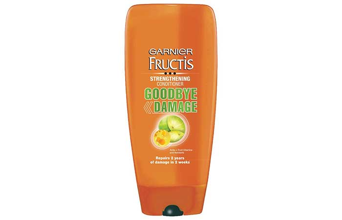 11. Garnier Fructis Strengthening Conditioner Goodbye Damage