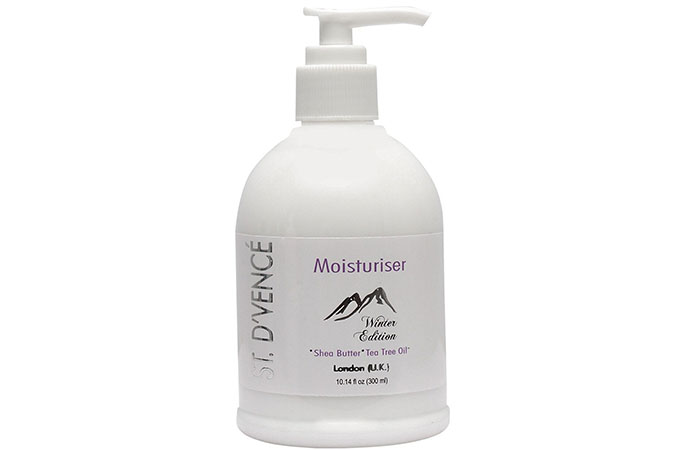 13. D'VENCÉ Body Moisturiser Winter Edition for Very Dry Skin