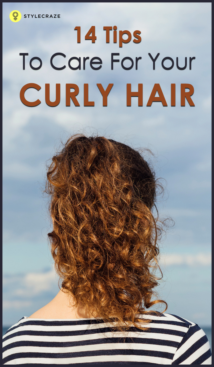 14 Basic Curly Hair Care Tips