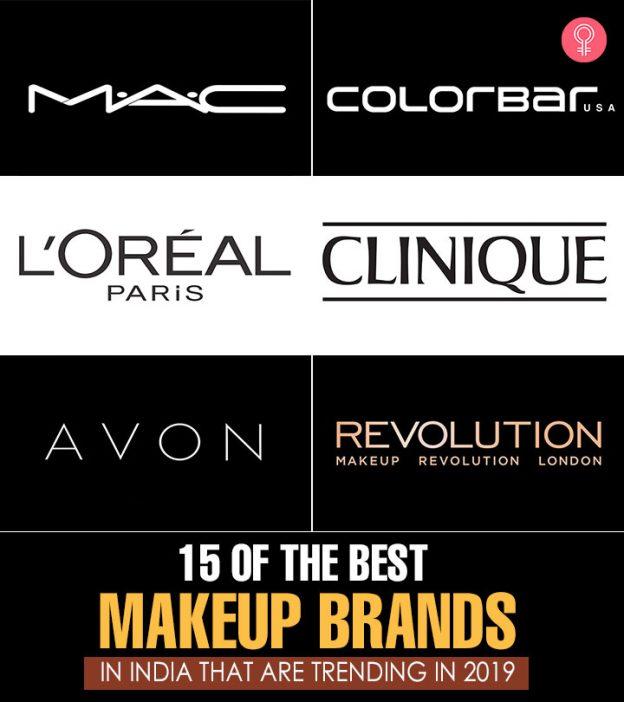 15 Best Makeup (Cosmetics) Brands In India - 2019 Update