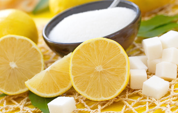 16. Lemon And Sugar