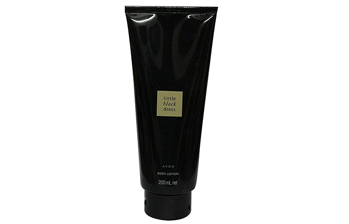 17. Avon Little Black Dress Body Lotion