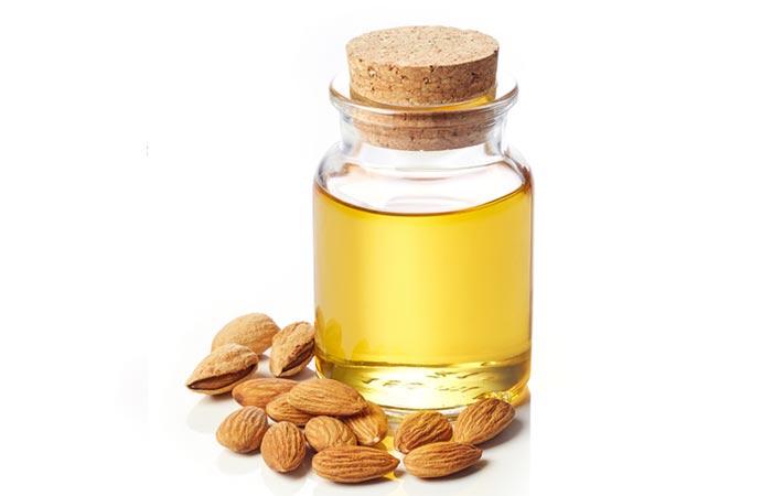 Hot Oil Hair Massage - Almond Oil