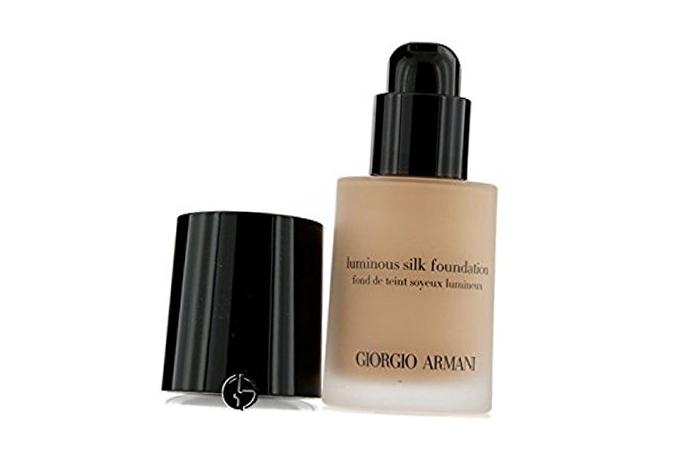 Good Foundations For Oily Skin - 2. Giorgio Armani Luminous Silk Foundation