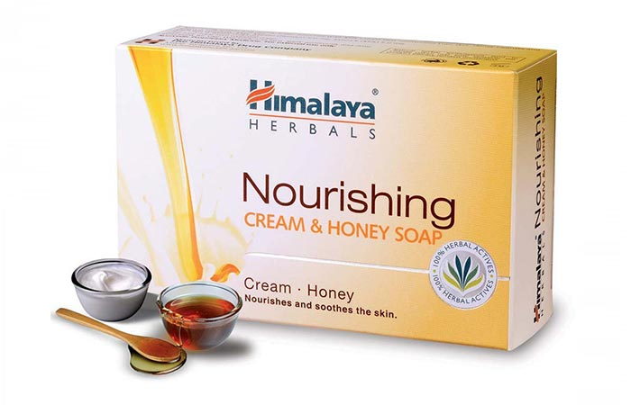 2. Himalaya Herbals Nourishing Cream And Honey Soap