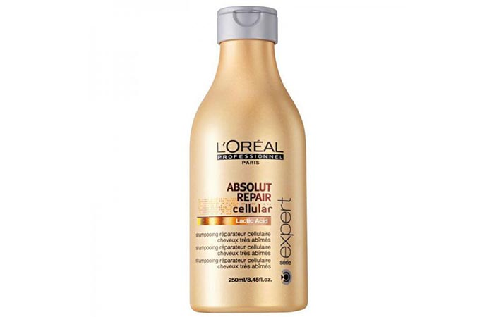 2. L'Oreal Absolute Repair Shampoo