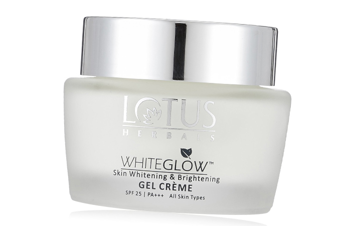 Skin Lightening Creams - Lotus Herbals Skin Whitening And Brightening Gel Creme