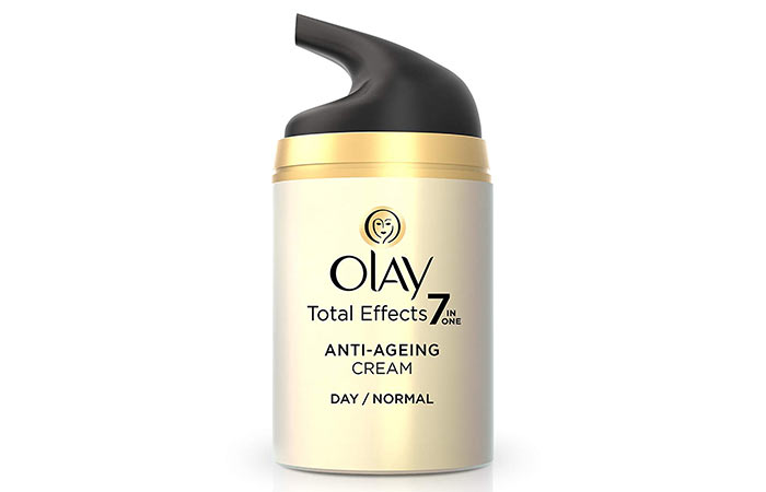2. Olay Total Effects 7-In-One Anti-Aging Cream