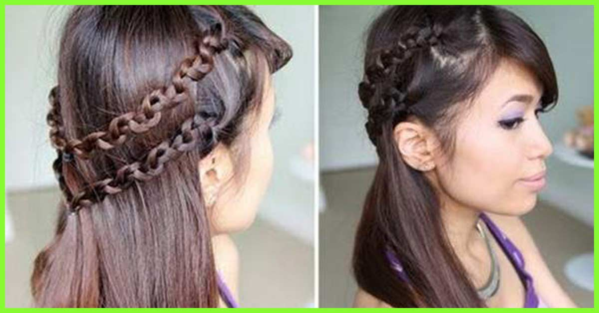 Hairstyles for long gown dress