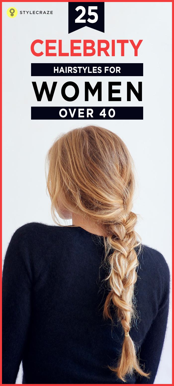 Fantastic 25 Celebrity Hairstyles For Women Over 40 Short Hairstyles For Black Women Fulllsitofus