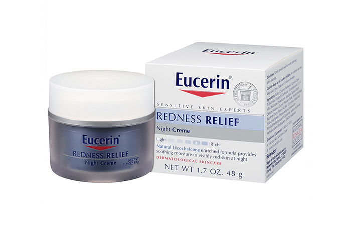 3. Eucerin Redness Relief Soothing Night Crème