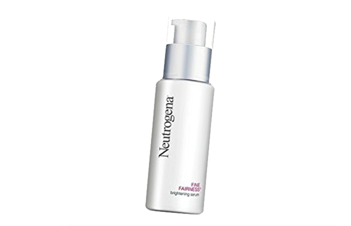 Skin Lightening Creams - Neutrogena Fine Fairness Brightening Serum