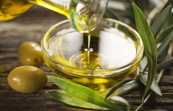 Hot Oil Hair Massage - Olive Oil