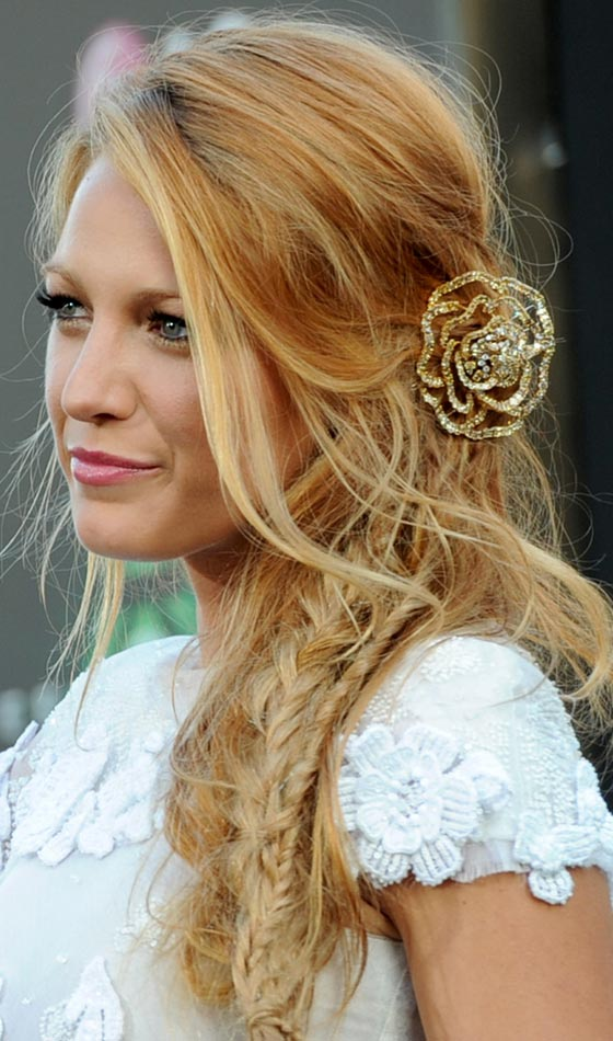 Strange 3 Braids On The Side With Curly Hair Braids Hairstyles For Women Draintrainus