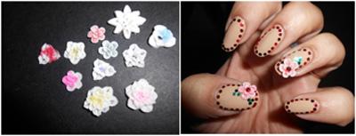3D silica gel stickers