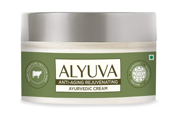 4. Alyuva Anti-Aging Rejuvenating Ayurvedic Cream