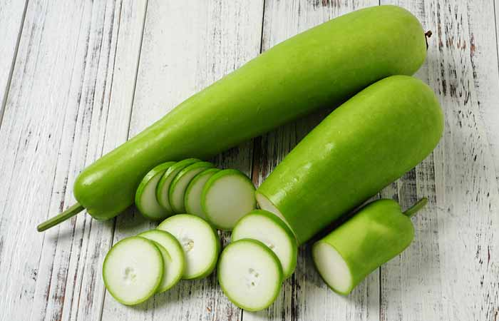 Ayurvedic Treatments For Pimples - Bottle Gourd And Salt