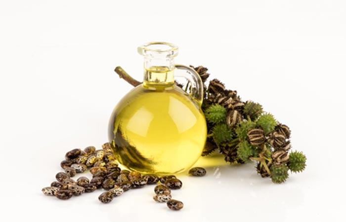 Hot Oil Hair Massage - Castor Oil