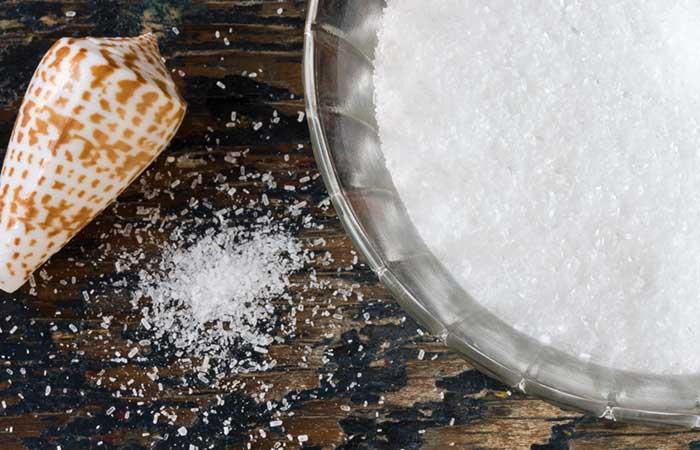 Treat Spider Veins - Epsom Salt