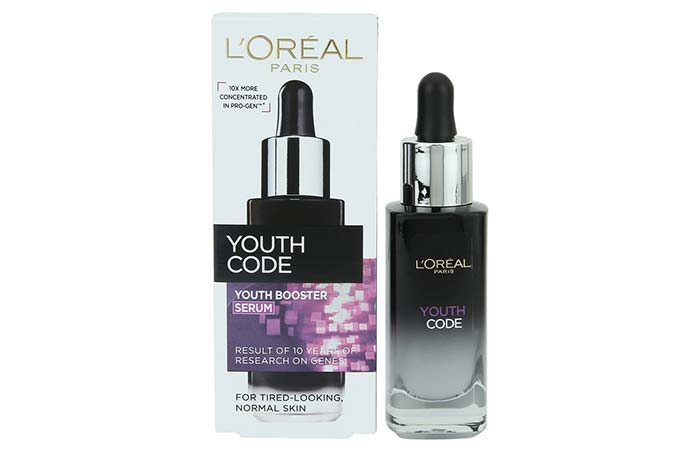 4. L'oreal Paris Youth Code Youth Booster Serum