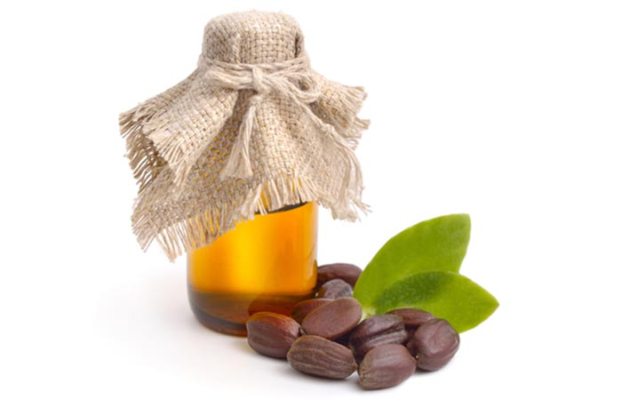 Hot Oil Hair Massage - Jojoba Oil