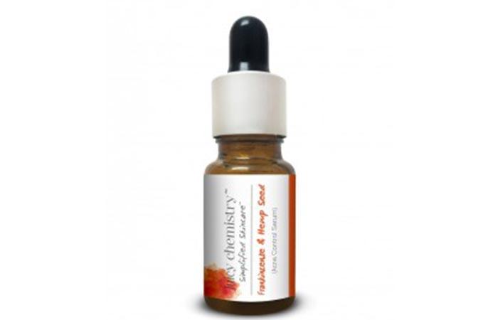 5. Juicy Chemistry Frankincense & Hemp Seed