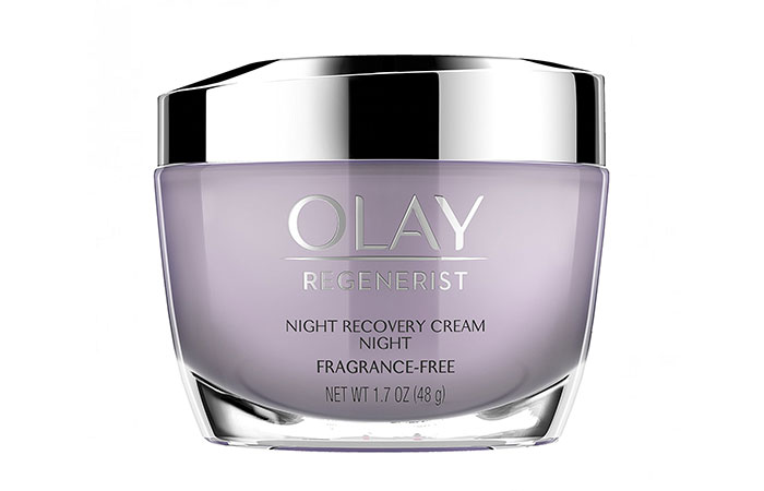 5. Olay Regenerist Night Recovery Cream & Face Moisturizer