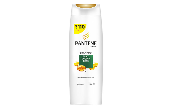 5. Pantene Silky Smooth Care Shampoo