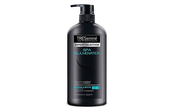 how to style hair with dry shampoo top 20 shampoos for and damaged hair best products 6138 | 5. Tresemme Hair Spa Rejuvenation Shampoo13