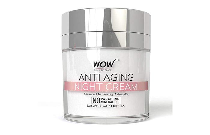 5. Wow Skin Science Anti Aging Night Cream