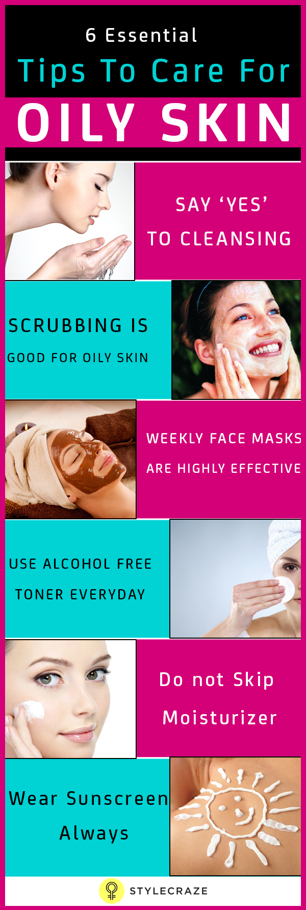 8 Must Know Beauty Tips for Oily Skin